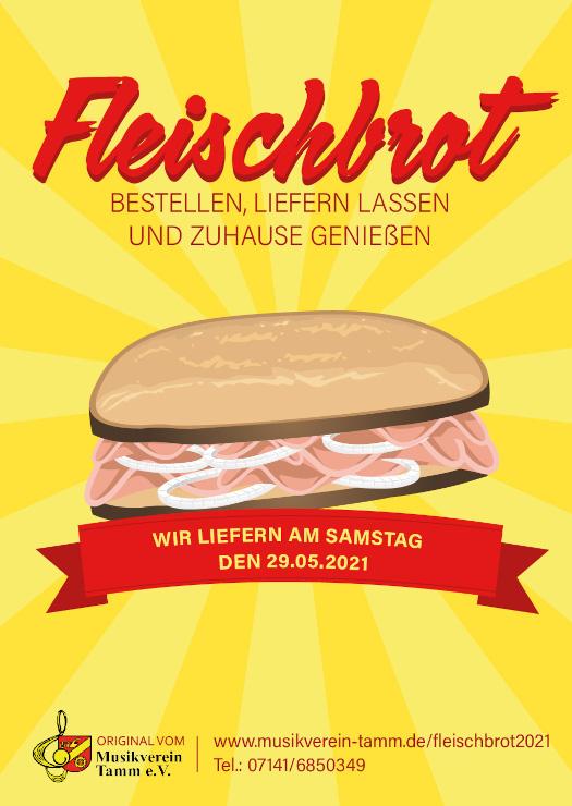 Fleischbrot-Verkauf